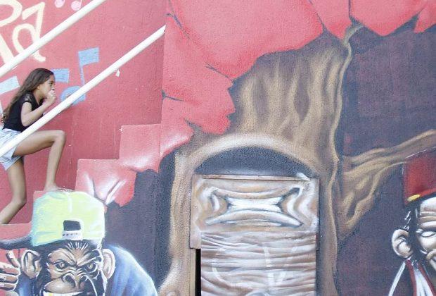 photo de la favela Santa Marta